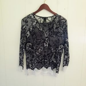 Kenneth Cole Floral Top
